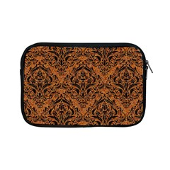 Damask1 Black Marble & Rusted Metal Apple Ipad Mini Zipper Cases by trendistuff