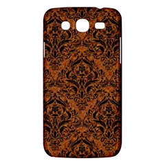 Damask1 Black Marble & Rusted Metal Samsung Galaxy Mega 5 8 I9152 Hardshell Case  by trendistuff