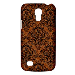 Damask1 Black Marble & Rusted Metal Galaxy S4 Mini