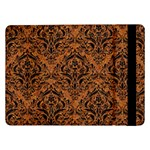 DAMASK1 BLACK MARBLE & RUSTED METAL Samsung Galaxy Tab Pro 12.2  Flip Case Front