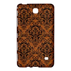 Damask1 Black Marble & Rusted Metal Samsung Galaxy Tab 4 (8 ) Hardshell Case
