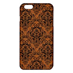 Damask1 Black Marble & Rusted Metal Iphone 6 Plus/6s Plus Tpu Case by trendistuff