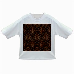 Damask1 Black Marble & Rusted Metal (r) Infant/toddler T Shirts