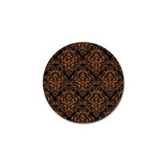 Damask1 Black Marble & Rusted Metal (r) Golf Ball Marker (10 Pack) by trendistuff