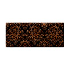 Damask1 Black Marble & Rusted Metal (r) Cosmetic Storage Cases by trendistuff