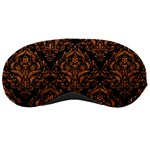 DAMASK1 BLACK MARBLE & RUSTED METAL (R) Sleeping Masks Front
