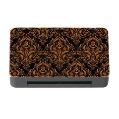 Damask1 Black Marble & Rusted Metal (r) Memory Card Reader With Cf by trendistuff