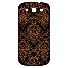 Damask1 Black Marble & Rusted Metal (r) Samsung Galaxy S3 S Iii Classic Hardshell Back Case by trendistuff