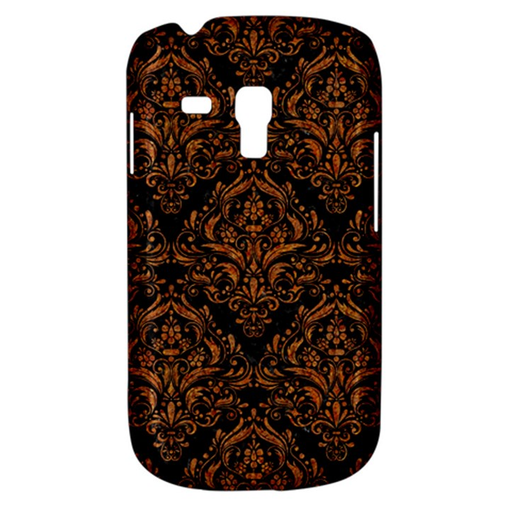 DAMASK1 BLACK MARBLE & RUSTED METAL (R) Galaxy S3 Mini