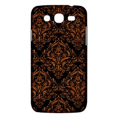 Damask1 Black Marble & Rusted Metal (r) Samsung Galaxy Mega 5 8 I9152 Hardshell Case  by trendistuff
