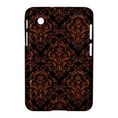 Damask1 Black Marble & Rusted Metal (r) Samsung Galaxy Tab 2 (7 ) P3100 Hardshell Case