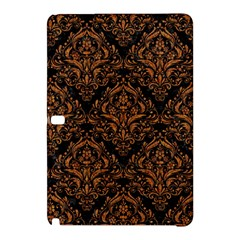 Damask1 Black Marble & Rusted Metal (r) Samsung Galaxy Tab Pro 10 1 Hardshell Case