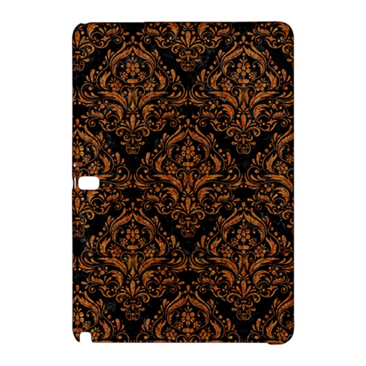 DAMASK1 BLACK MARBLE & RUSTED METAL (R) Samsung Galaxy Tab Pro 10.1 Hardshell Case
