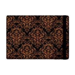 Damask1 Black Marble & Rusted Metal (r) Ipad Mini 2 Flip Cases