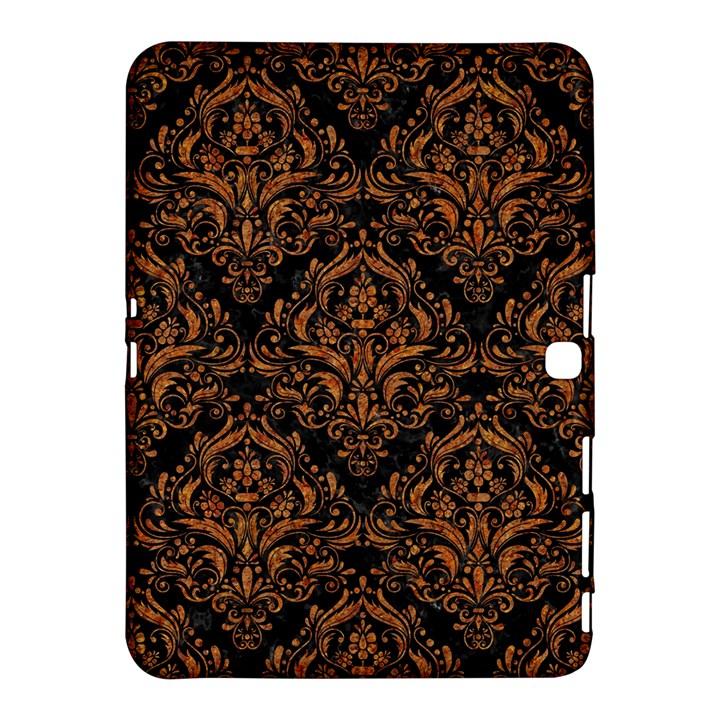 DAMASK1 BLACK MARBLE & RUSTED METAL (R) Samsung Galaxy Tab 4 (10.1 ) Hardshell Case