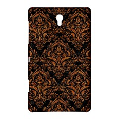 Damask1 Black Marble & Rusted Metal (r) Samsung Galaxy Tab S (8 4 ) Hardshell Case