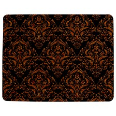 Damask1 Black Marble & Rusted Metal (r) Jigsaw Puzzle Photo Stand (rectangular)