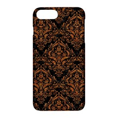Damask1 Black Marble & Rusted Metal (r) Apple Iphone 7 Plus Hardshell Case by trendistuff