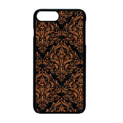 Damask1 Black Marble & Rusted Metal (r) Apple Iphone 7 Plus Seamless Case (black) by trendistuff