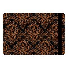 Damask1 Black Marble & Rusted Metal (r) Apple Ipad Pro 10 5   Flip Case by trendistuff