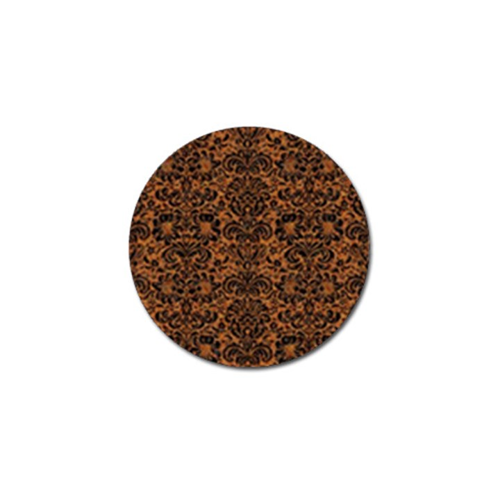 DAMASK2 BLACK MARBLE & RUSTED METAL Golf Ball Marker (10 pack)