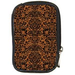 DAMASK2 BLACK MARBLE & RUSTED METAL Compact Camera Cases Front