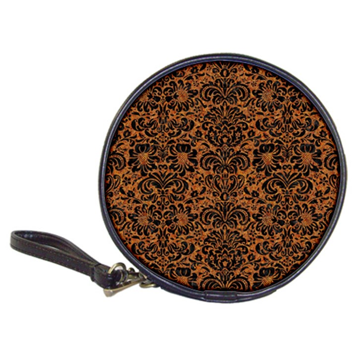 DAMASK2 BLACK MARBLE & RUSTED METAL Classic 20-CD Wallets