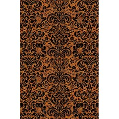 Damask2 Black Marble & Rusted Metal 5 5  X 8 5  Notebooks