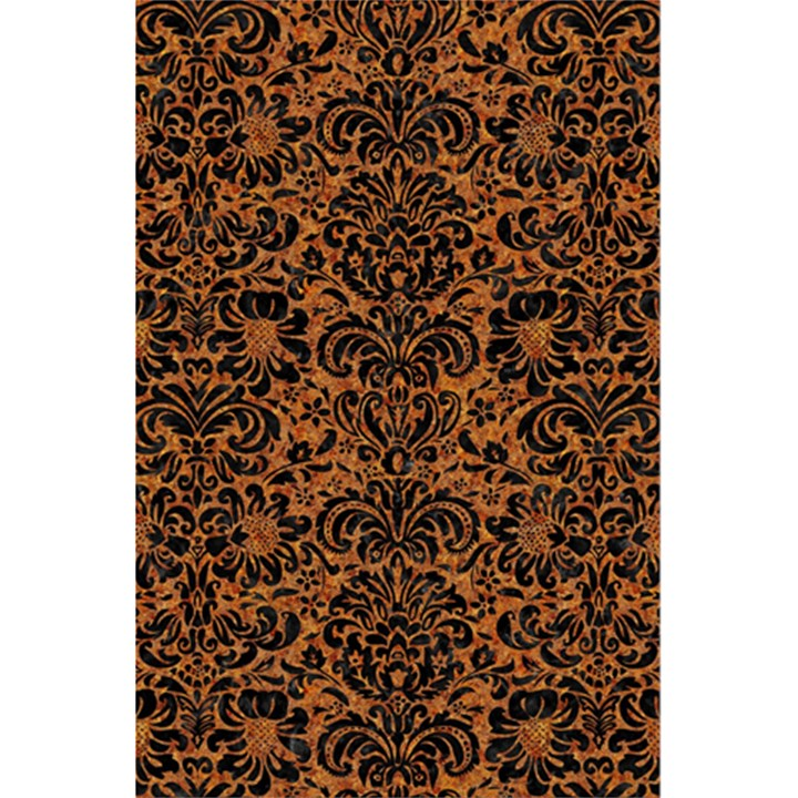 DAMASK2 BLACK MARBLE & RUSTED METAL 5.5  x 8.5  Notebooks