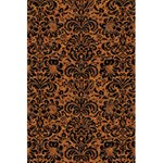 DAMASK2 BLACK MARBLE & RUSTED METAL 5.5  x 8.5  Notebooks Back Cover