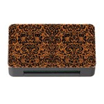 DAMASK2 BLACK MARBLE & RUSTED METAL Memory Card Reader with CF Front