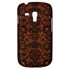 Damask2 Black Marble & Rusted Metal Galaxy S3 Mini by trendistuff