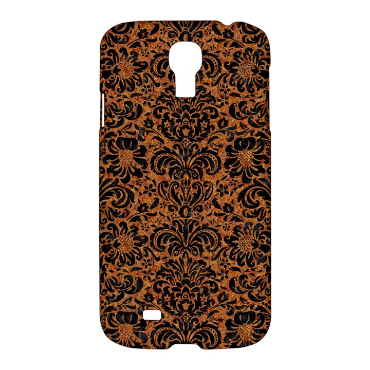 DAMASK2 BLACK MARBLE & RUSTED METAL Samsung Galaxy S4 I9500/I9505 Hardshell Case