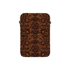 DAMASK2 BLACK MARBLE & RUSTED METAL Apple iPad Mini Protective Soft Cases