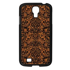 Damask2 Black Marble & Rusted Metal Samsung Galaxy S4 I9500/ I9505 Case (black) by trendistuff