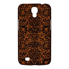 Damask2 Black Marble & Rusted Metal Samsung Galaxy Mega 6 3  I9200 Hardshell Case by trendistuff