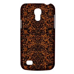 Damask2 Black Marble & Rusted Metal Galaxy S4 Mini by trendistuff