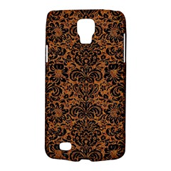 Damask2 Black Marble & Rusted Metal Galaxy S4 Active by trendistuff