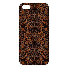 Damask2 Black Marble & Rusted Metal Iphone 5s/ Se Premium Hardshell Case by trendistuff