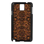 DAMASK2 BLACK MARBLE & RUSTED METAL Samsung Galaxy Note 3 N9005 Case (Black) Front
