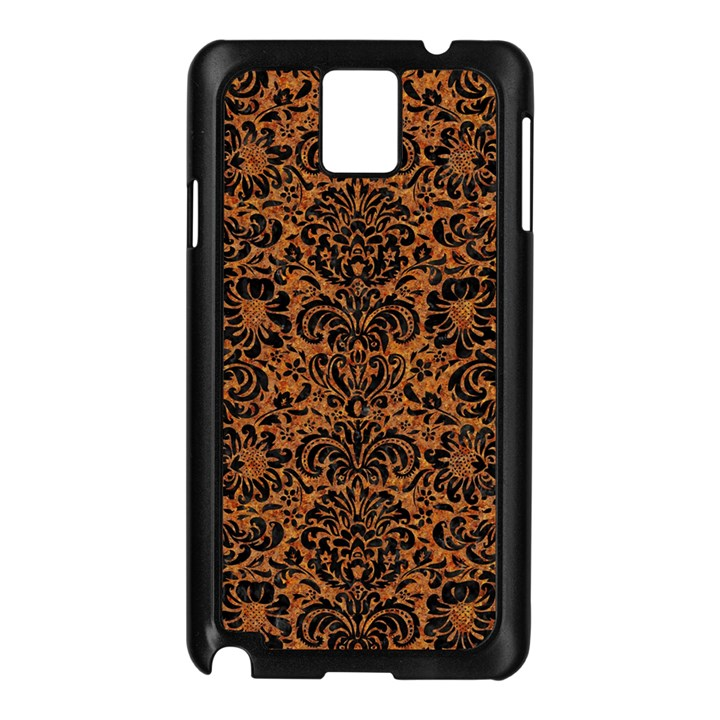 DAMASK2 BLACK MARBLE & RUSTED METAL Samsung Galaxy Note 3 N9005 Case (Black)