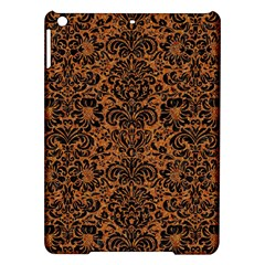 Damask2 Black Marble & Rusted Metal Ipad Air Hardshell Cases by trendistuff