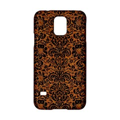 Damask2 Black Marble & Rusted Metal Samsung Galaxy S5 Hardshell Case  by trendistuff