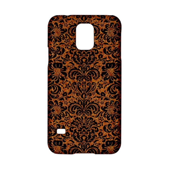 DAMASK2 BLACK MARBLE & RUSTED METAL Samsung Galaxy S5 Hardshell Case