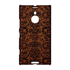 Damask2 Black Marble & Rusted Metal Nokia Lumia 1520 by trendistuff