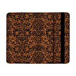 DAMASK2 BLACK MARBLE & RUSTED METAL Samsung Galaxy Tab Pro 8.4  Flip Case Front