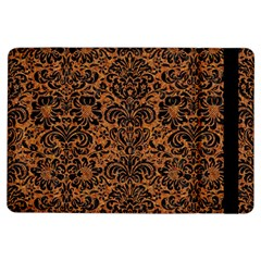 Damask2 Black Marble & Rusted Metal Ipad Air Flip by trendistuff