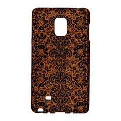 Damask2 Black Marble & Rusted Metal Galaxy Note Edge by trendistuff