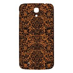 DAMASK2 BLACK MARBLE & RUSTED METAL Samsung Galaxy Mega I9200 Hardshell Back Case Front