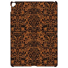 Damask2 Black Marble & Rusted Metal Apple Ipad Pro 12 9   Hardshell Case
